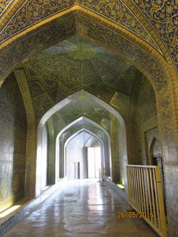 Amazing tilework - Jameh Mosque