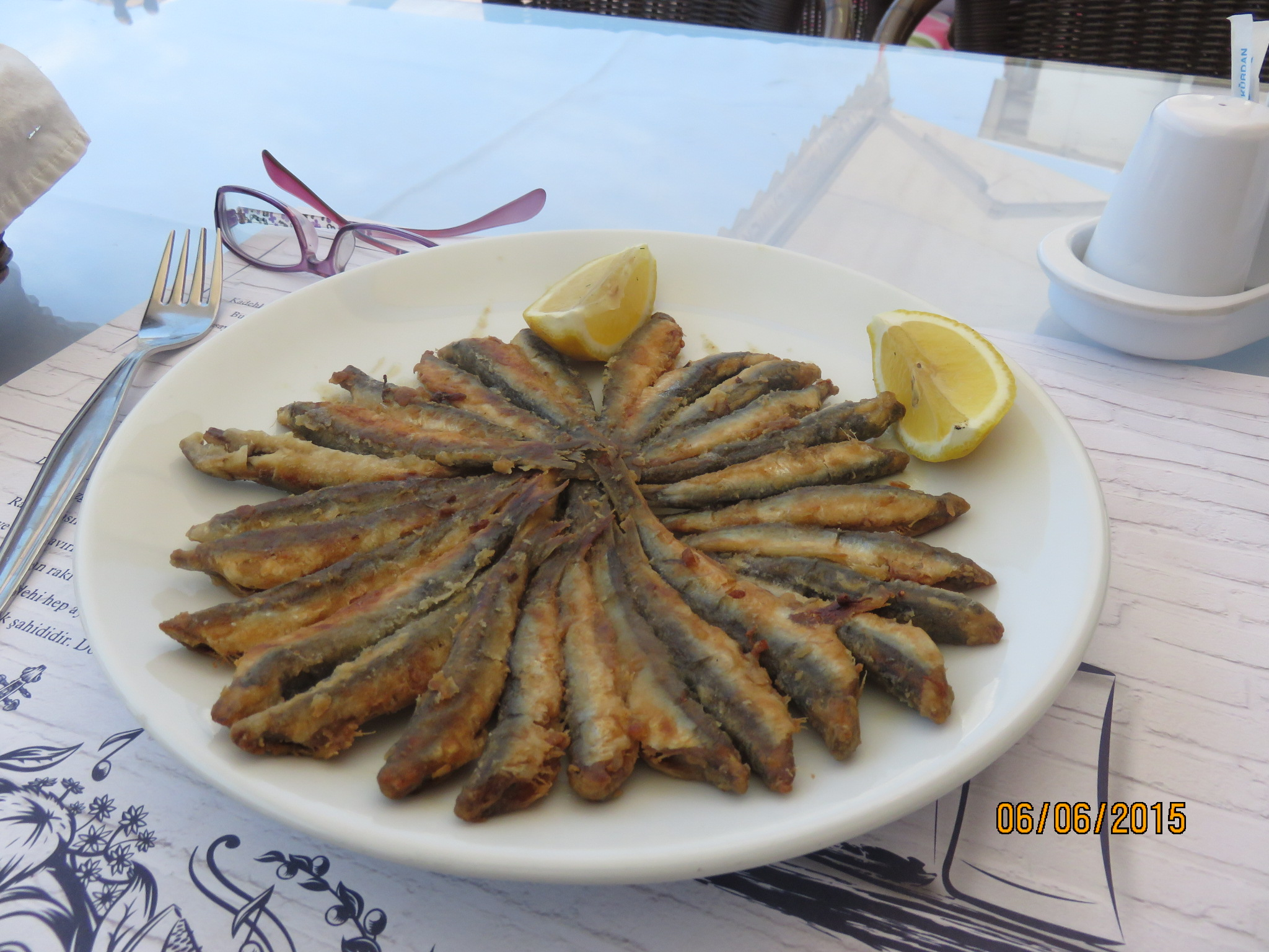 anchovies at Kusadasi