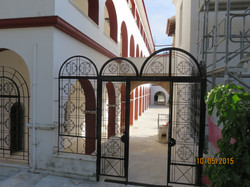 Pentelli Monastrey - gate to Monks