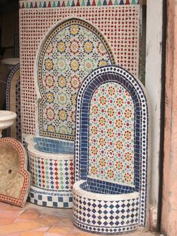 mosaic sinks