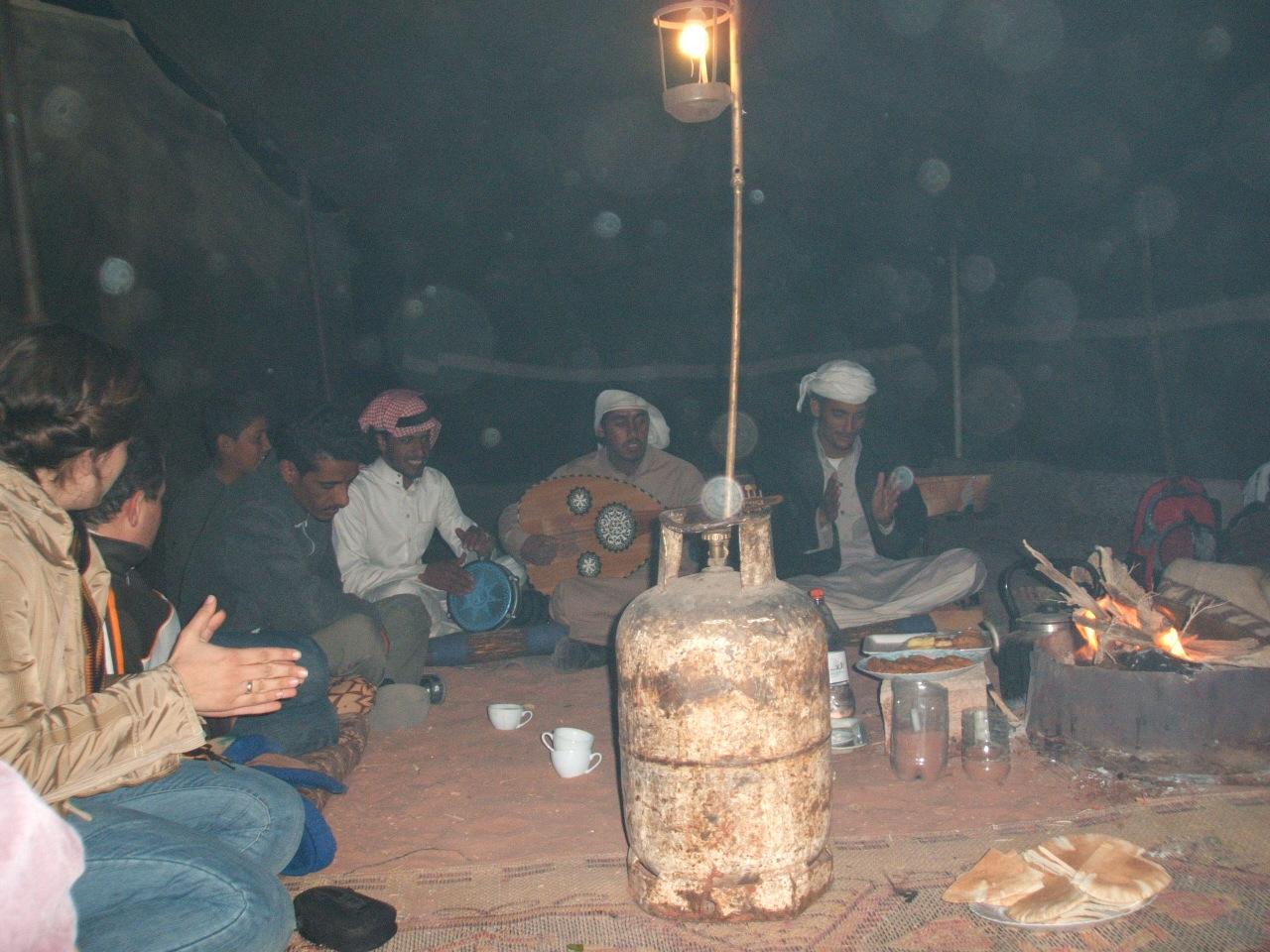 Wadi Rum Bedouin Camp entertainment