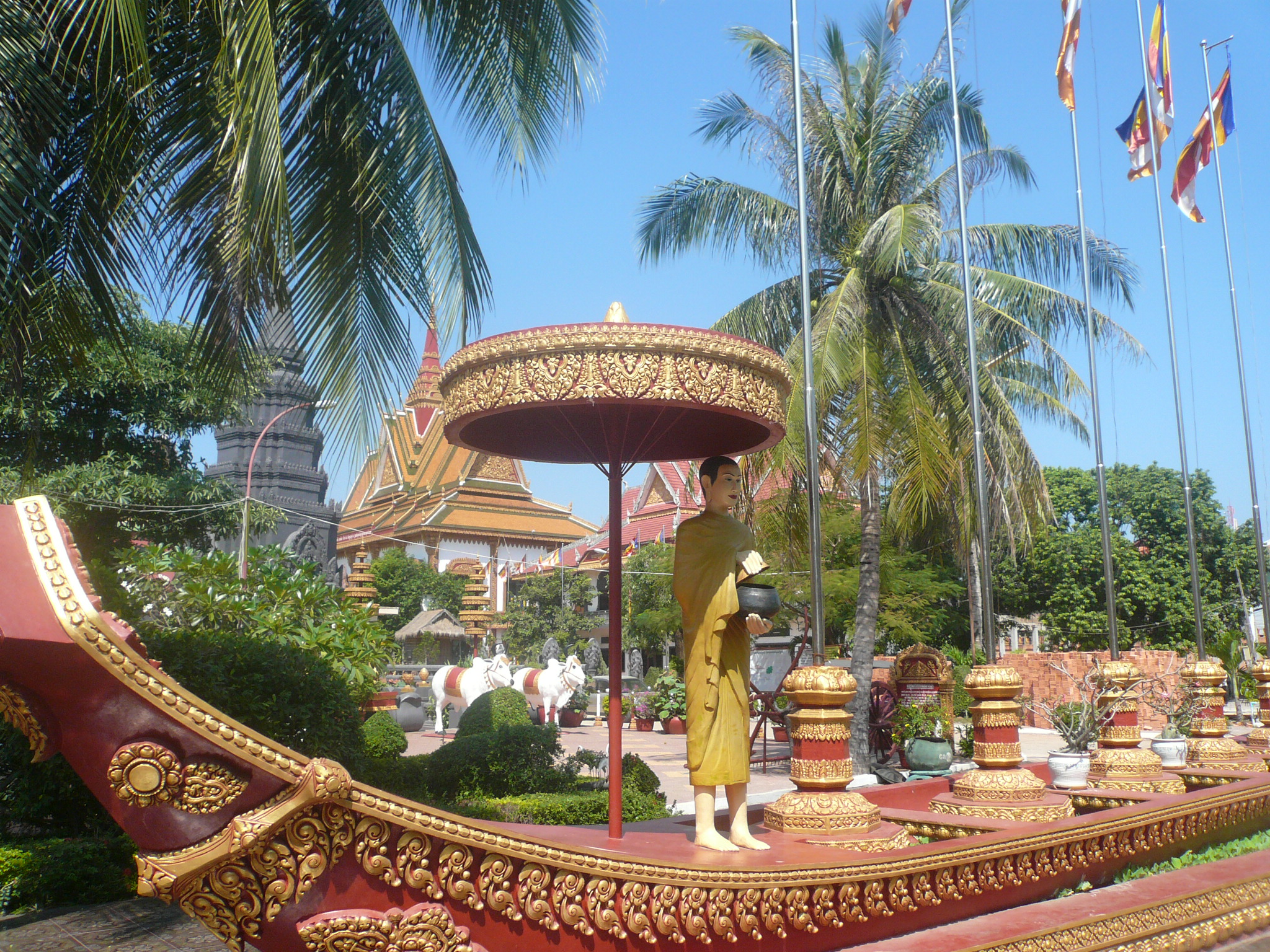 The Siem Reap Temple