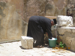 fecthing water - Jerusalem