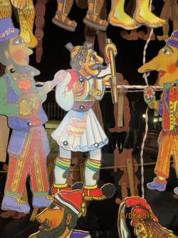 Karantjiozis shadow puppet