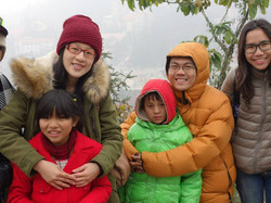 Keeping kids warm and dry Sapa