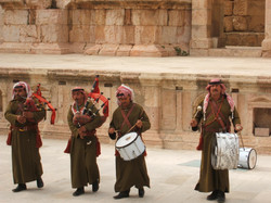 Jerash Just what you expect at Roman ruins in Jordan