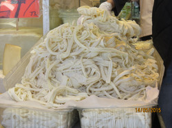 stringy cheese