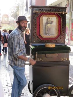 Street vendor - Ermou St