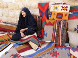 Rug seller Shiraz
