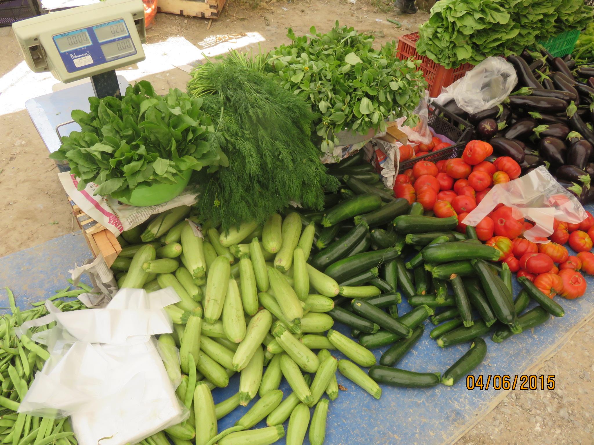 beautiful market greens