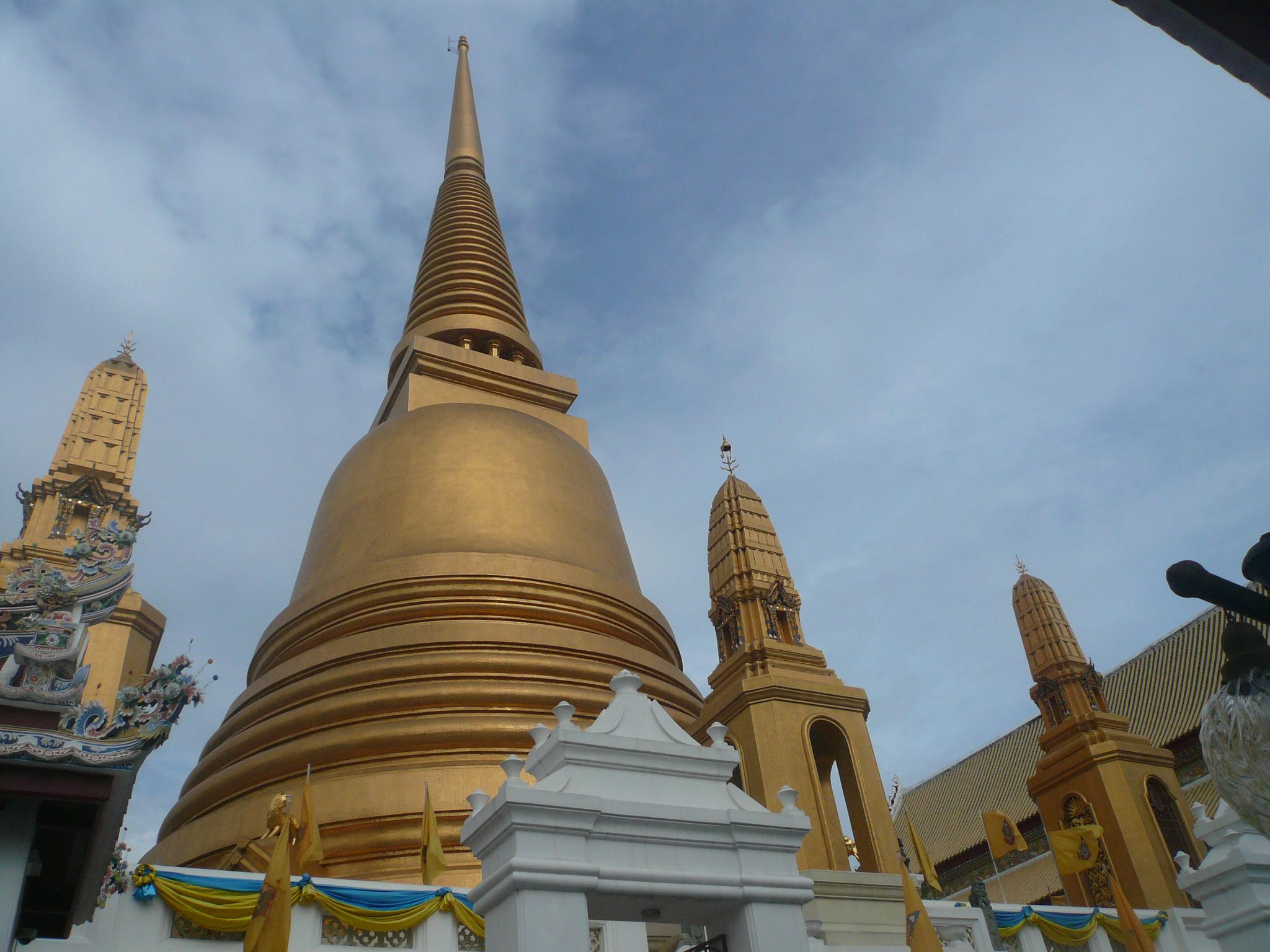 Golden Stupa at Golden Mount