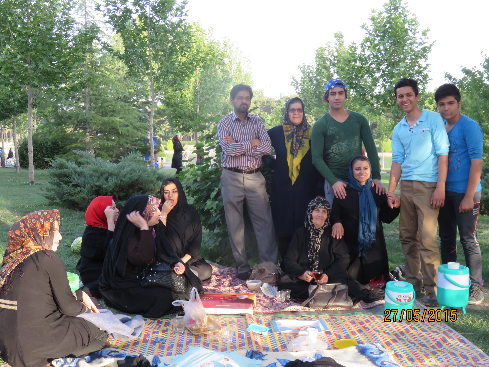 The most hospitable family Esfahan