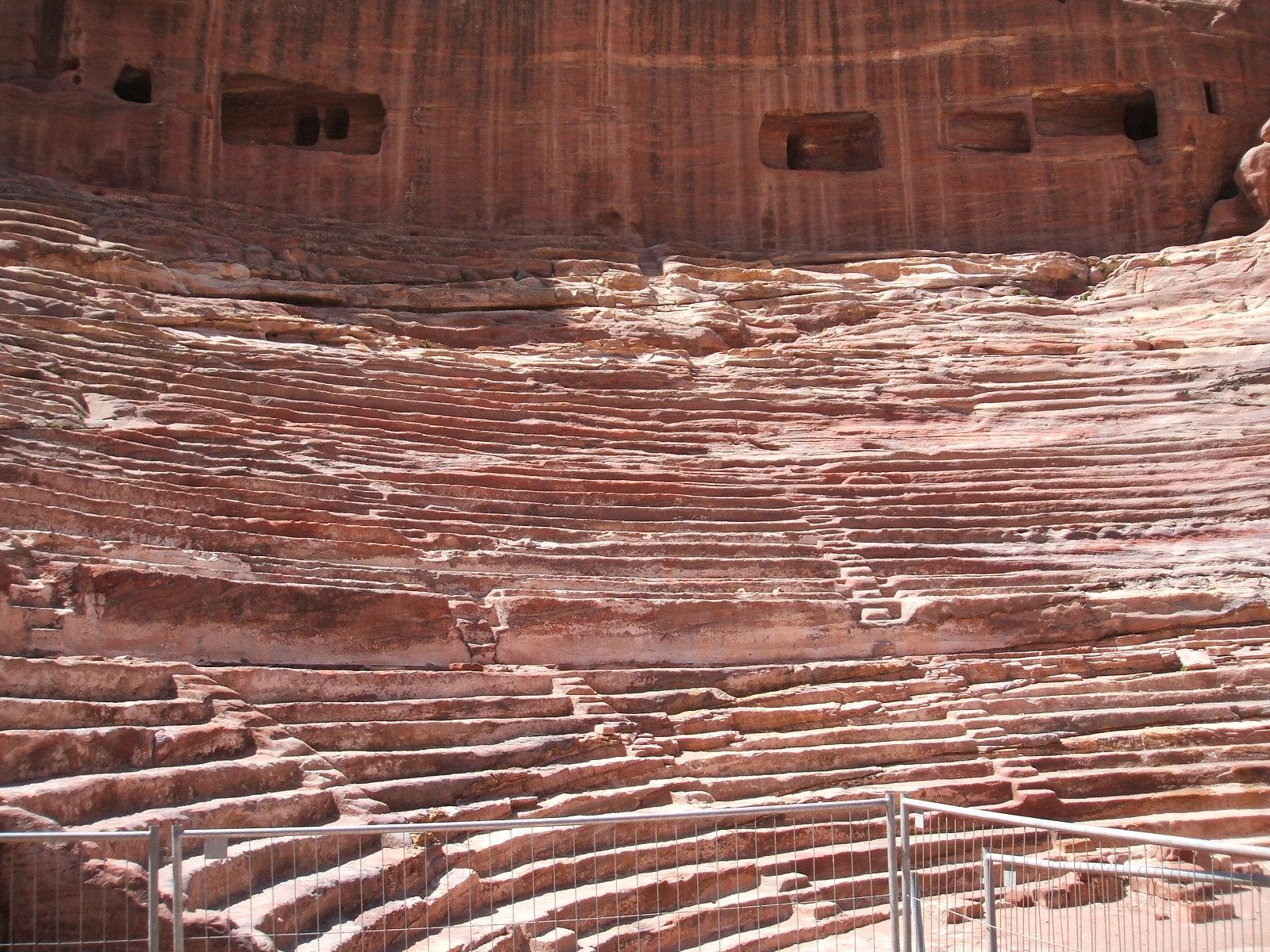 Petra Theatre close up