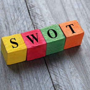 What goes into a SWOT / SWOC analysis?