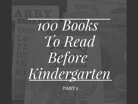 Summer Reading {Starting Little Ones Early} – Part 2