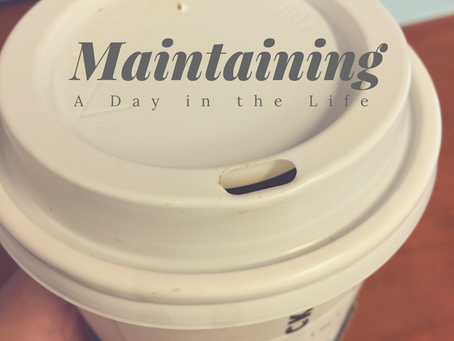 Maintaining a Day in the Life {of a Mom on the GO}