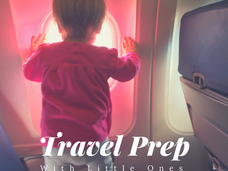 Preparing for Travel {With Little Ones}