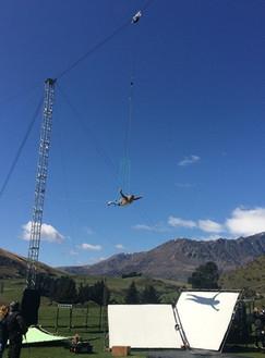 Stunt Winch truss rigging