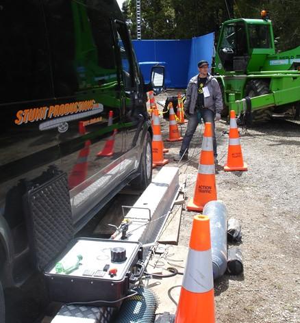 Stunt rigging ratchet
