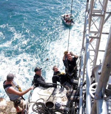 Stunt descender rig for camera NZ