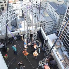 Stunt Rigging truss New Zealand