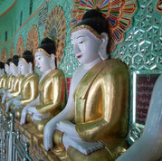 The cave of 45 Buddhas, Sagiang Hill