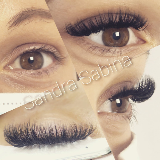 Extension de cils mascara volume
