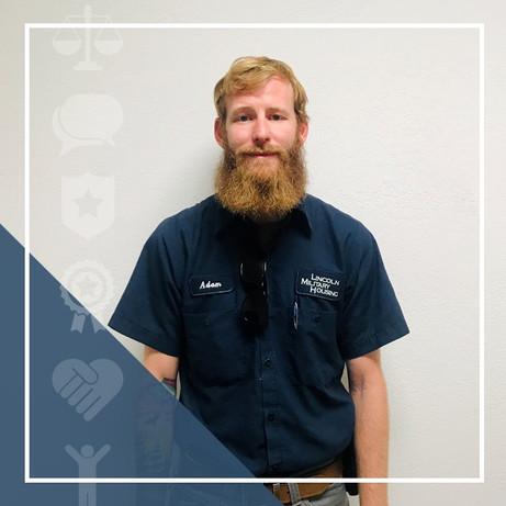 Congratulations, Adam Brokaw - Maintenance Supervisor for East District!