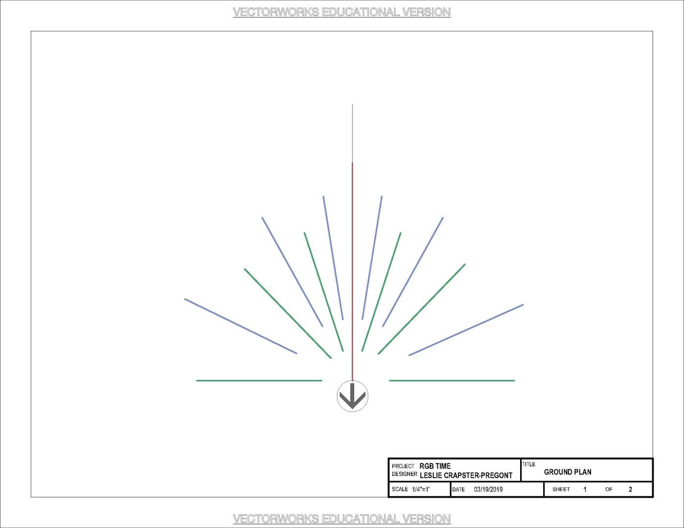 Vectorworks Drafting Sample