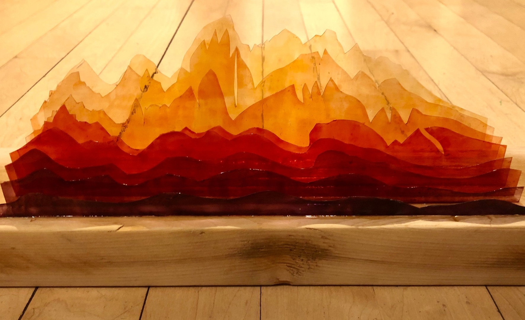 Stained Glass Mountains