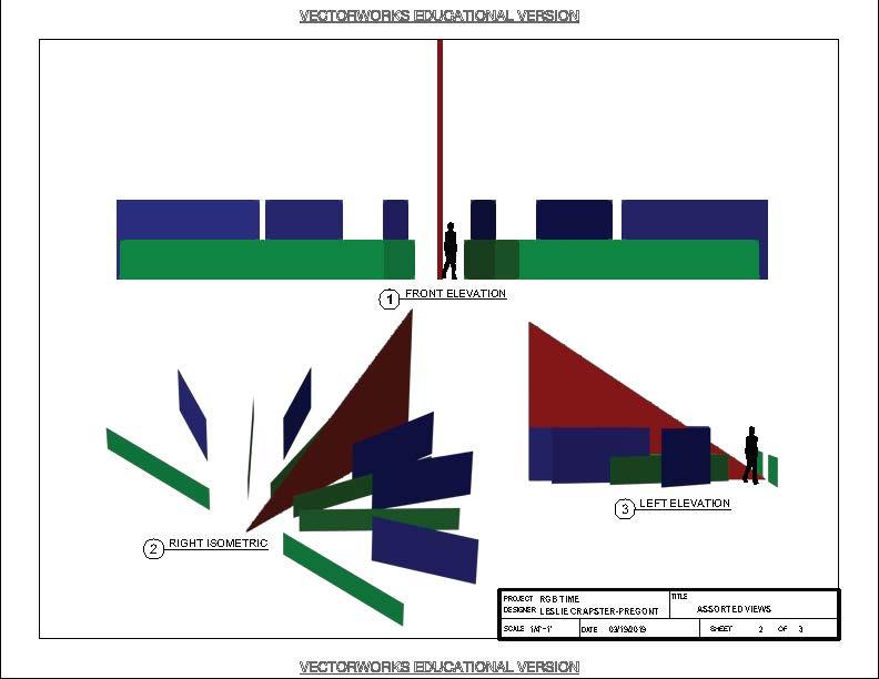Sundials: Dichroic and RGB