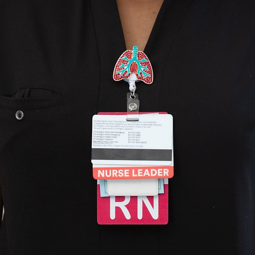 Better Lung Badge Reel