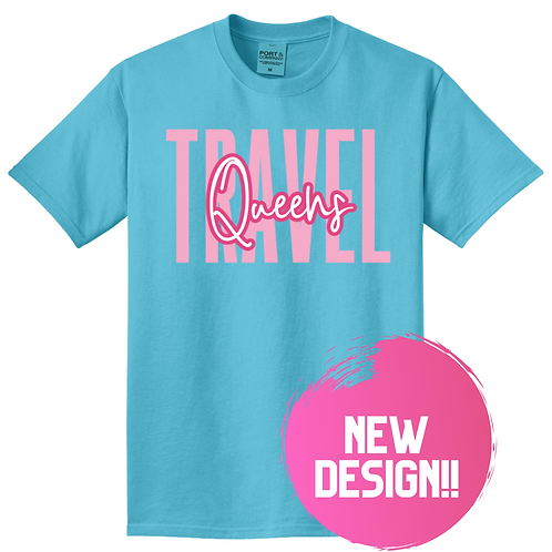 Travel-Queens Comeback Tee
