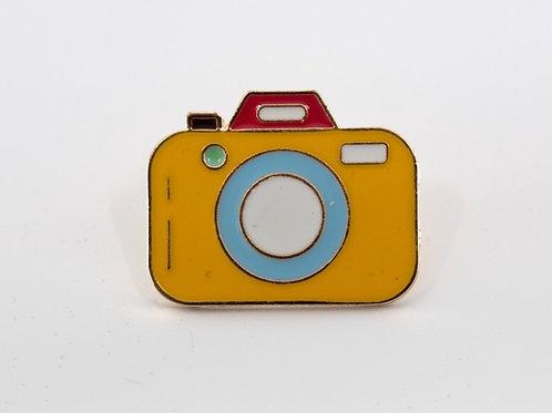 Camera Enamel Pin