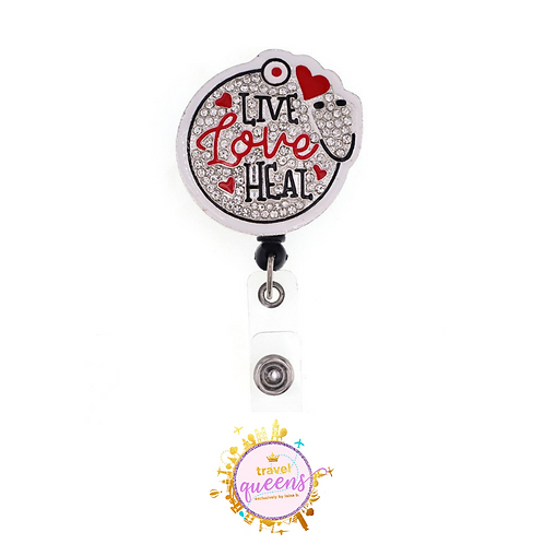 Live, Love, Heal Badge Reel