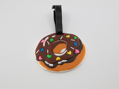 Donut 3D Luggage Tag