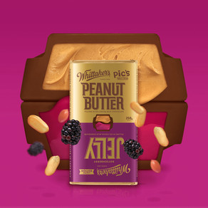 Whittaker's Turns Chocolate World Upside Down with new Peanut Butter & Jelly Block