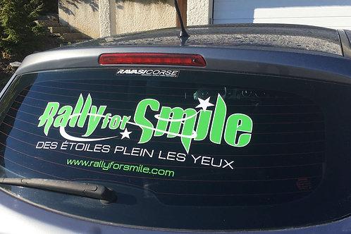 Stickers - Logo vitre arrière