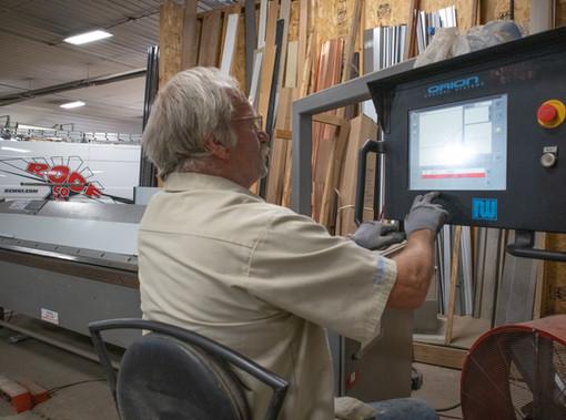 Sheet metal shop operator