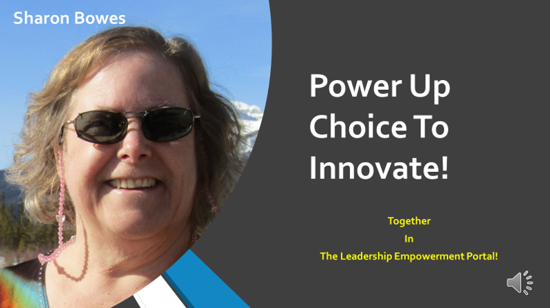 Power Up Choice Cover Page