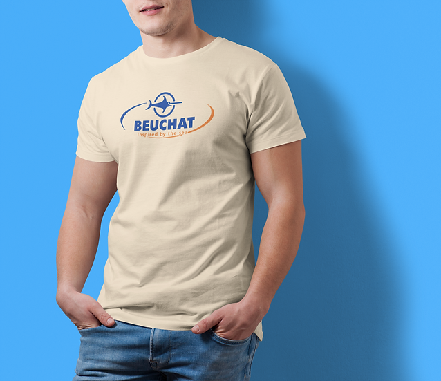 """SCUBA BEUCHAT """"INSPIRED BY THE SEA""""TEE SHIRT"""