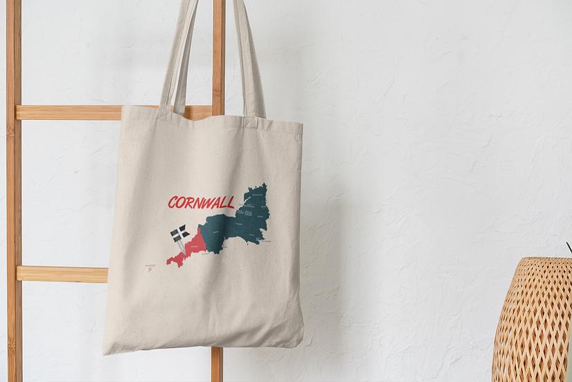 Cornwall Tote Shopping Bag