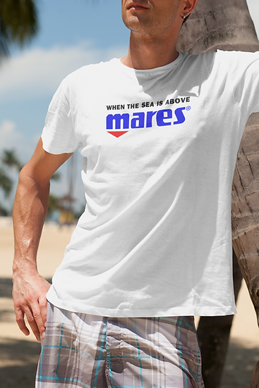 "SCUBA MARES ""WHEN THE SEA IS ABOVE"" T-SHIRT"