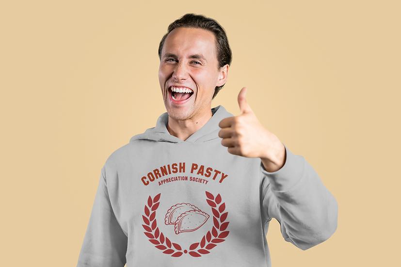 "CORNWALL ""CORNISH PASTY APPRECIATION SOCIETY"" HOODIES"