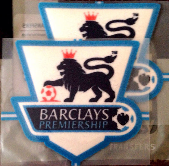 BARCLAYS PREMIER LEAGUE PLAYER ISSUE SLEEVE PATCHES FELT TYPE 2004-07