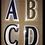 Thumbnail: BARCLAYS PREMIER LEAGUE PLAYER ISSUE LETTERS FELT TYPE 2004-07