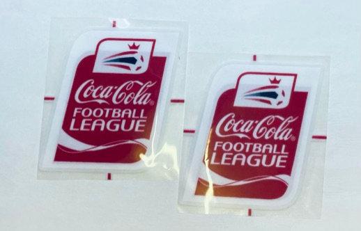 COCA COLA FOOTBALL LEAGUE Sleeve badges 2004-2010