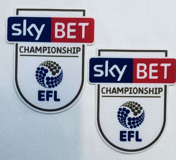 SKY BET EFL Championship Sleeve badges 2016-18