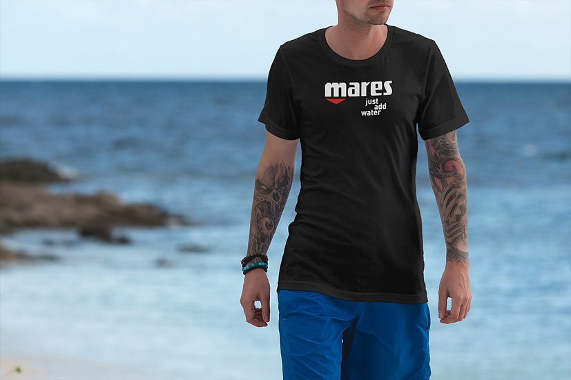 "SCUBA MARES T-SHIRTS ""JUST ADD WATER"""