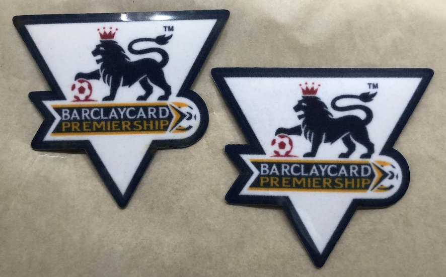 BARCLAYS PREMIER LEAGUE PLAYER ISSUE SLEEVE PATCHES FELT TYPE 2003-2004